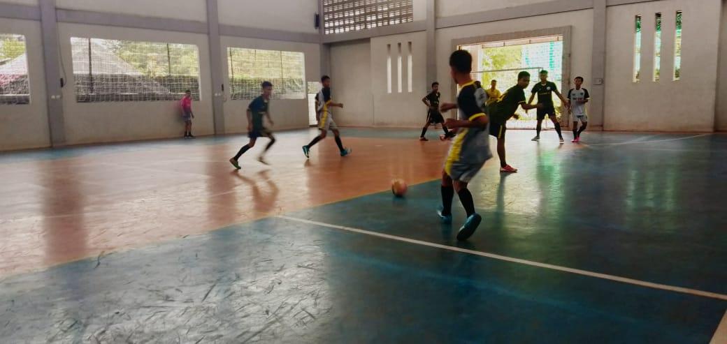 X TKR B Melaju Final Futsal
