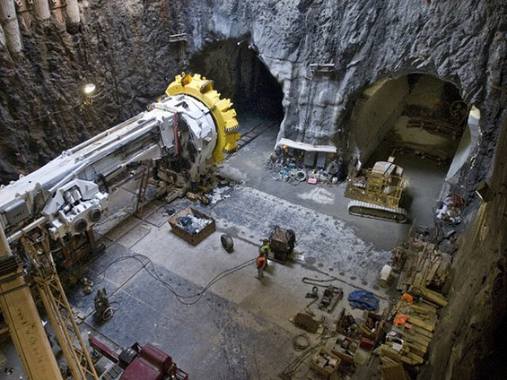 Second Avenue Subway Tunneling