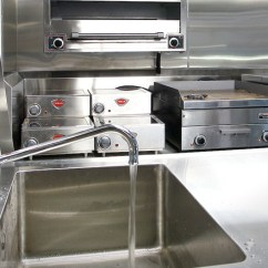 Stainless Steel Carts Kitchen Cheap Appliances Containerized - Original Equipment Sml
