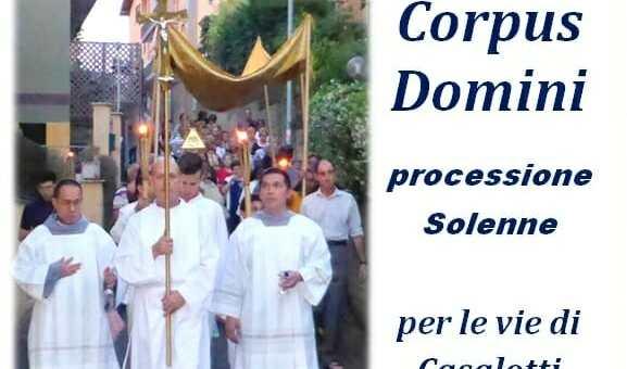 Corpus Domini 2 giugno 2018