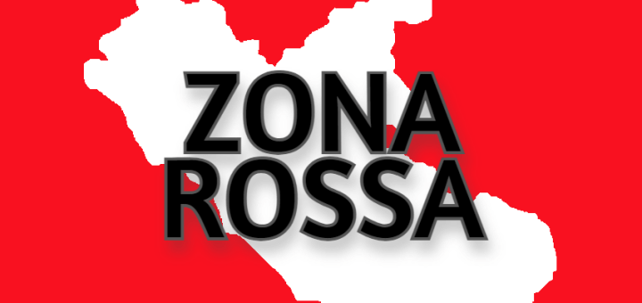 ZONA ROSSA dal 15 marzo 2021