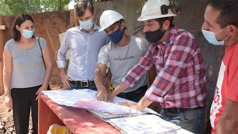 Morón: Avanzan las obras de agua corriente en Castelar Sur - SM Noticias
