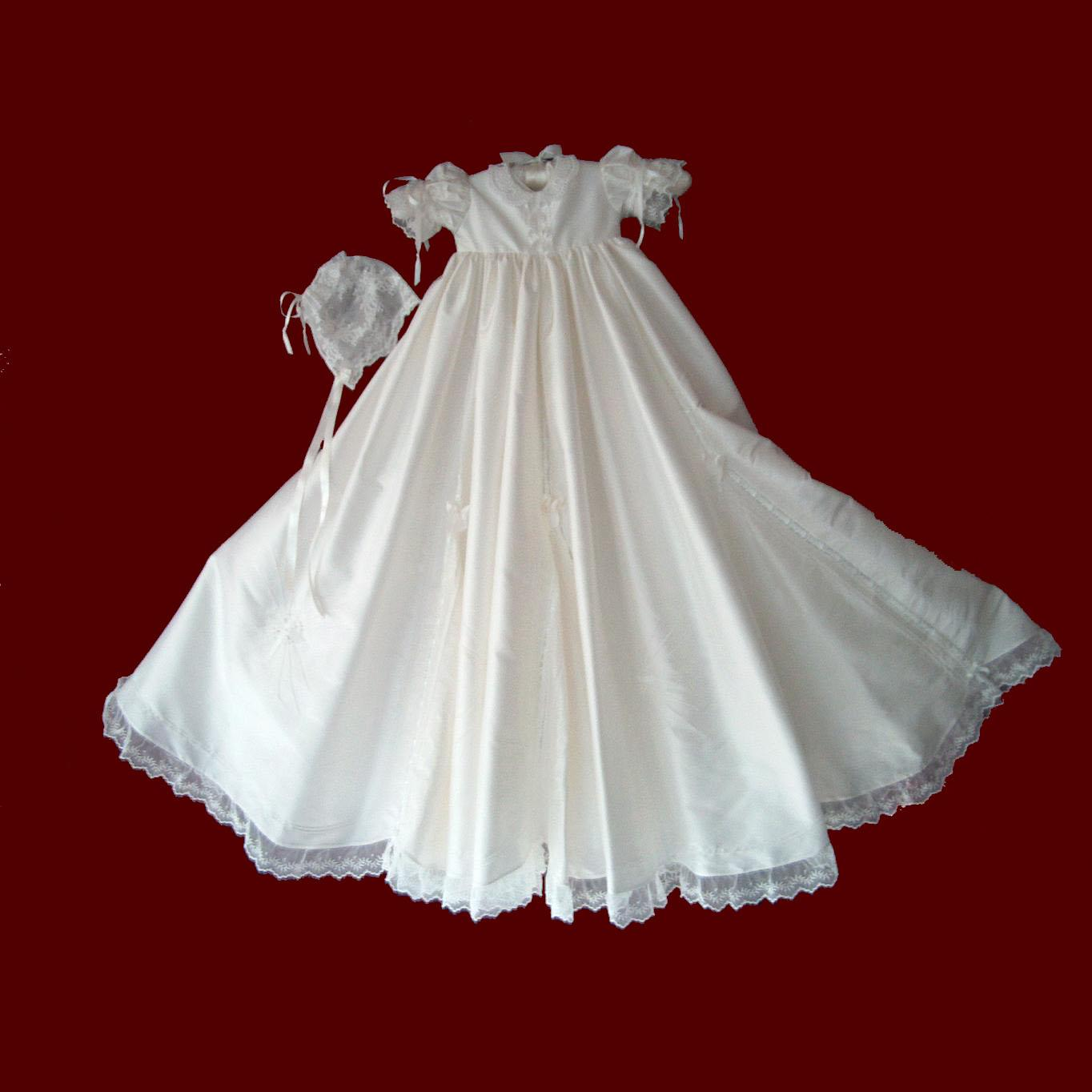 There are so many beautiful names for boys throughout all cultures and countries that it can be hard to narrow down your options. Girls Silk Christening Gown with Gores & Godets - The
