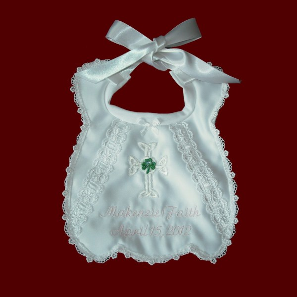 Irish Christening Bibs - Smocked Treasures