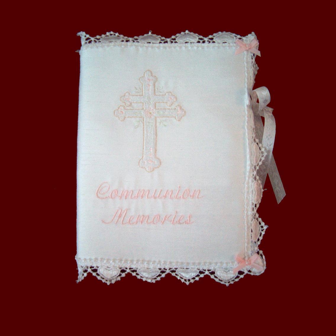 Communion Memories Photo Album Cover  Communion Bibles