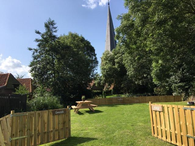 Picknickplaats voor onze gasten én de overige toeristen van Holwerd