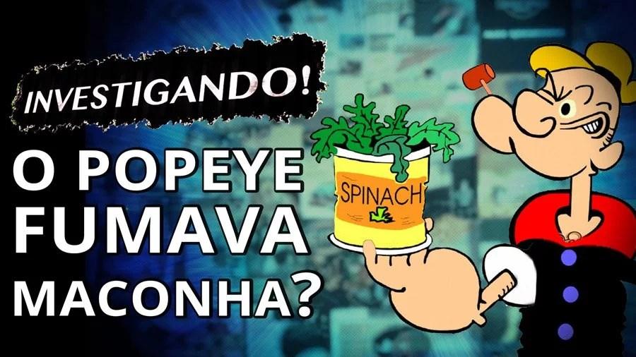 sera que popeye fumava maconha smoke buddies Da lata para o cachimbo: Será que Popeye fumava maconha?