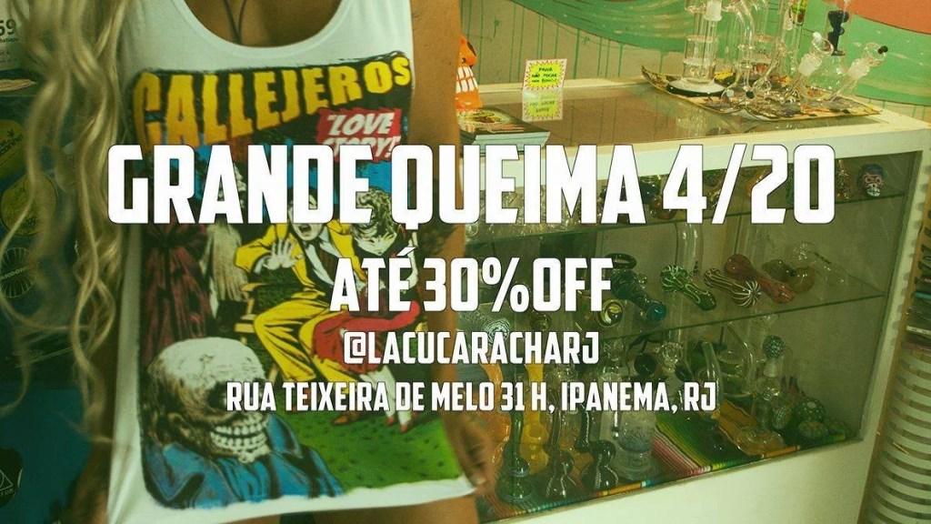 lacucaracha parceira smoke buddies 1024x576 Dia da Maconha vira uma Black Friday fora de época