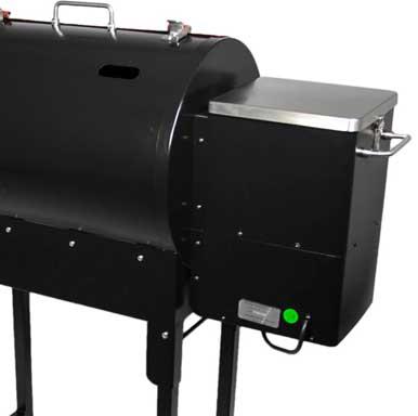 Rec tec pellet grill hopper