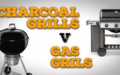 Charcoal vs gas grills