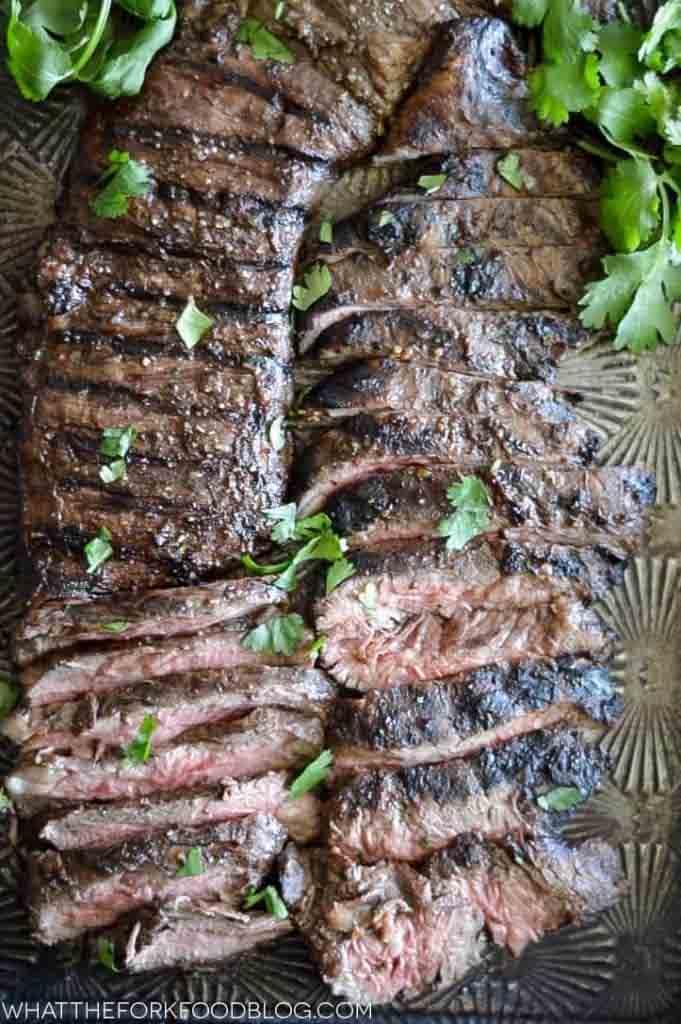 grilles skirt steak