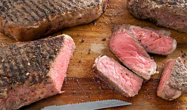Recipe: Grilled Strip Loin Steaks with Homemade Steak Spice