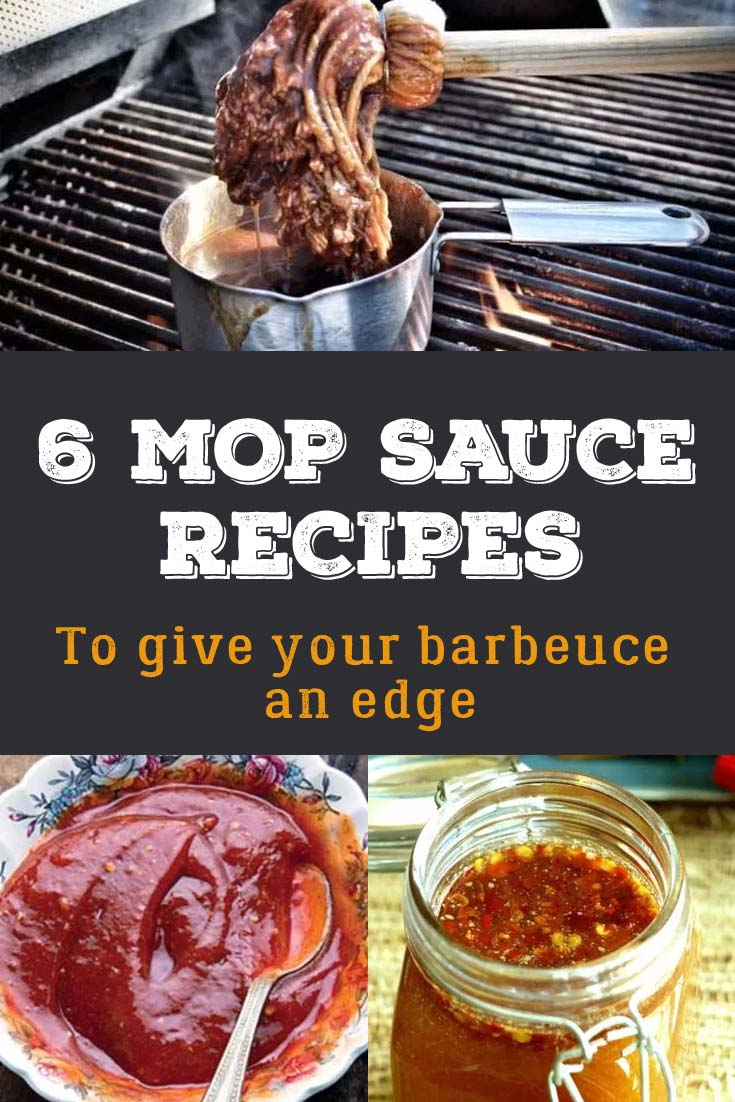 A good mop sauce is like having your own barbecue secret weapon. Mop sauces were traditionally used in Texas commercial pits where meat was cooked over coals. Basting the meat with a mop was a way of cooling the meat and maintaining moisture