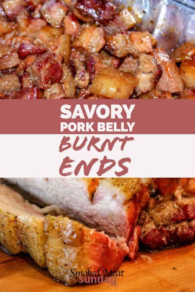 pork belly burnt ends - bbq - smoked meat - pork recipe - good barbecue - foodie - food blog - burnt ends recipe