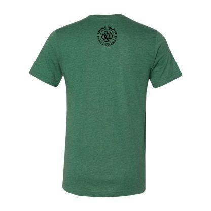 Green (back) – Smoke Proper T-shirt