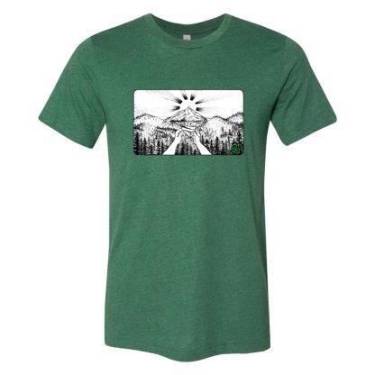 Green (BW) – Smoke Proper T-shirt
