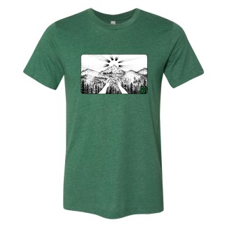 Green (BW) – Smoke Proper T-shirt