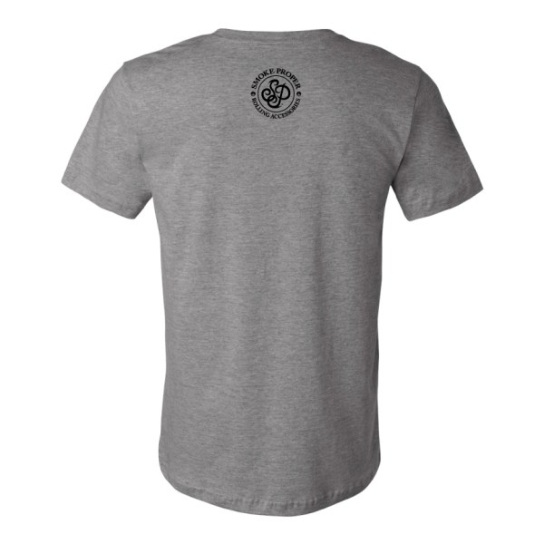 Grey (back) – Smoke Proper T-Shirt