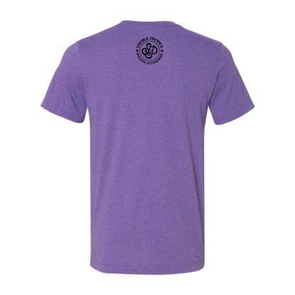 Purple (back) – Smoke Proper T-Shirt