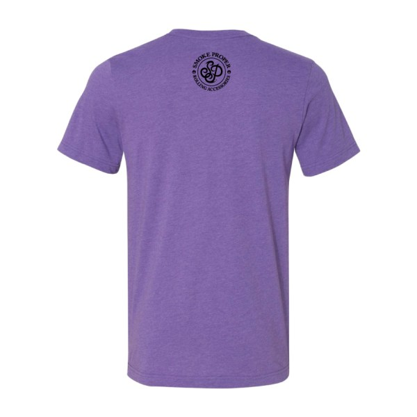 Purple (back) – Smoke Proper T-Shirt