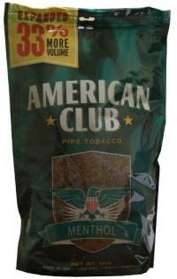 American Club Menthol Pipe Tobacco 16oz Bag - Smokes ...