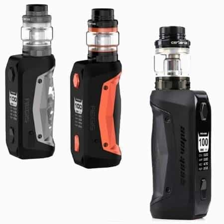 Geek Vape Aegis Solo different angles