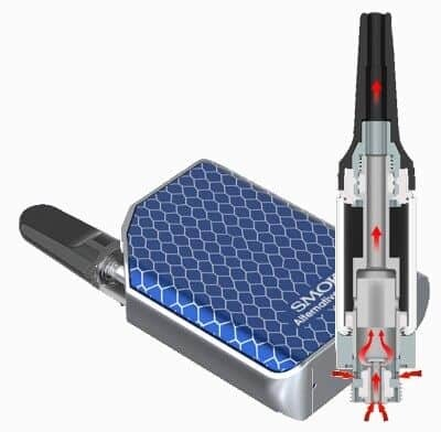 Smok MICARE Kit airflow