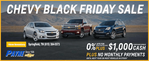 Chevy black friday sale 511