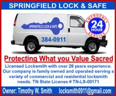 Springfield lock safe 300 a