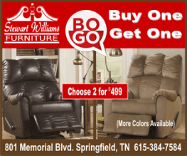 Stewart Williams Buy one get recliner ad 300