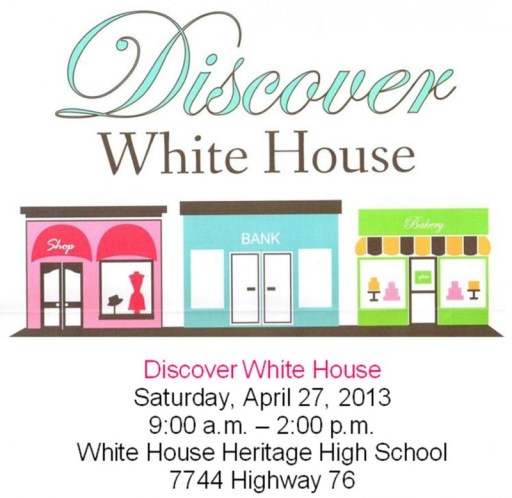 discover White house flyer
