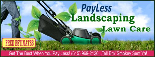 lawn post ad