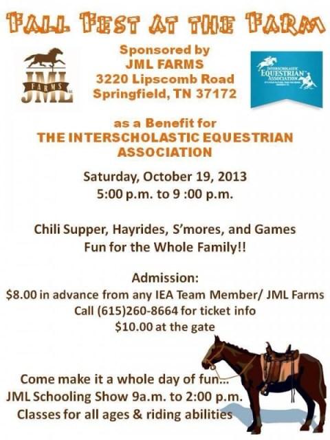 JML Farms Fall Flyer