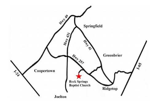 rock springs map