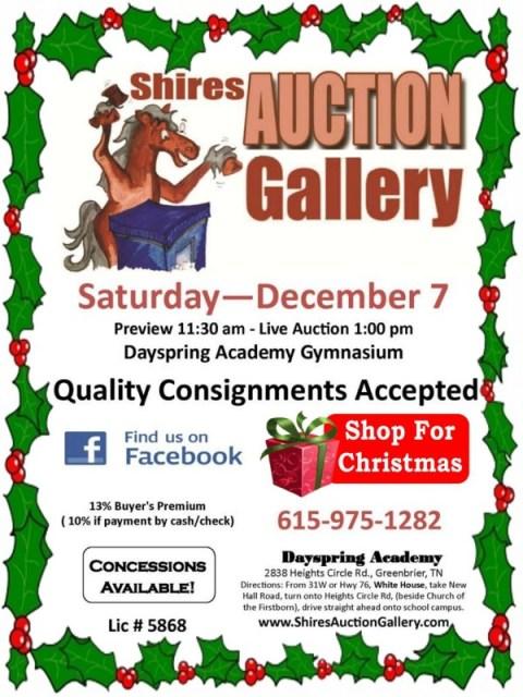 Shires Auction Dec 7a