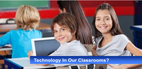 technology in classrooms slider