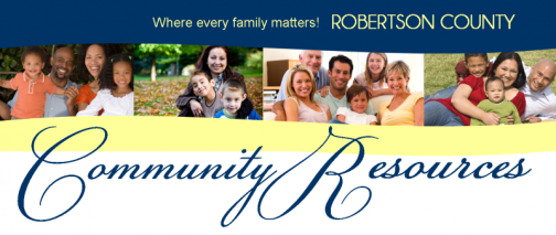 Community Resources Banner