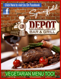 Depot steak wine vegetarian 300 ad