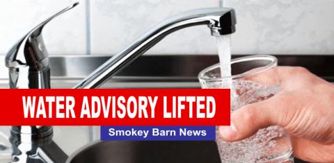 water advisory lifted slider
