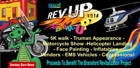 Spring Up event Bransford benefit slider 2014