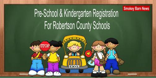 school registration slider
