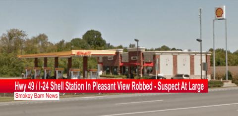 Hwy 49 Shell station robbed slider