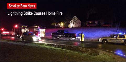 Lightning Strike Causes Home Fire slider