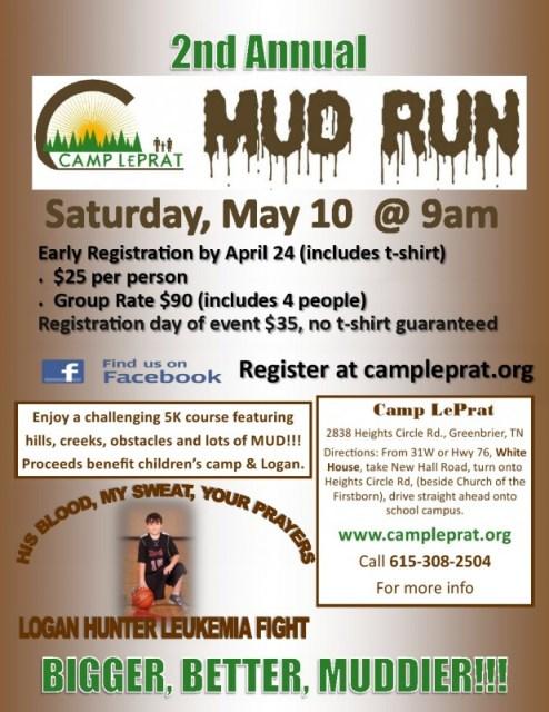 Mud run flyer 2014