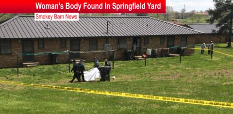 Woman's Body Found In Springfield Yard slider