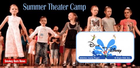 summer theater camp slider