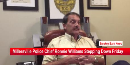 Millersville Police Chief Stepping down slider