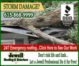 Jewell storm damage ad 300 july 2014