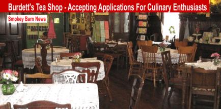 Burdett's accepting applications slider