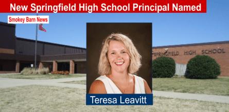 New Springfield High School Principal Named slider